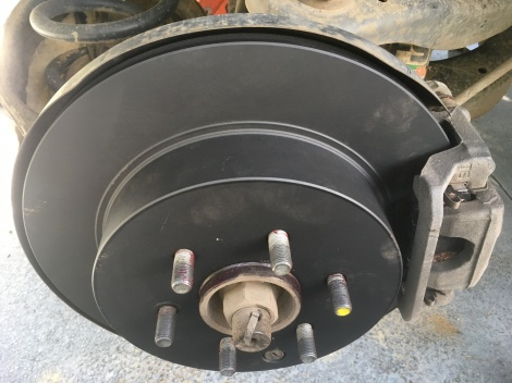 Disc Rotors and Disc Pads fitted Charlestown