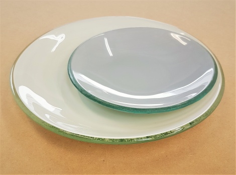 Curve Plate and Bowl