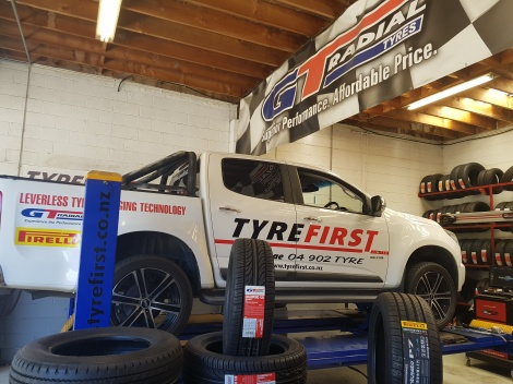 Even the TYREFIRST truck needs some TLC