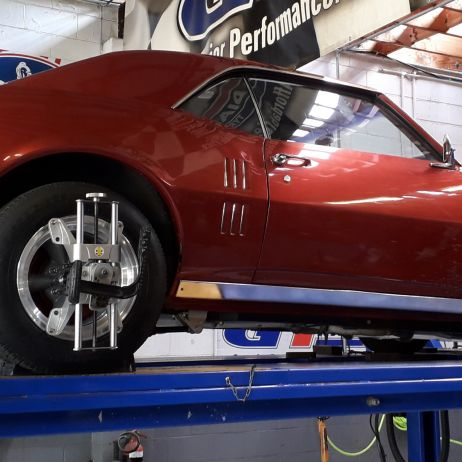 3D WHEEL ALIGNMENT ON PONTIAC