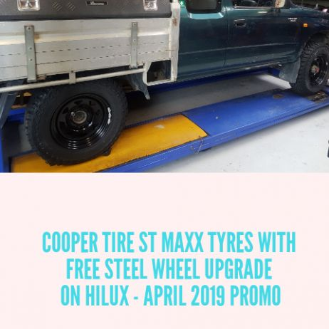 COOPER TIRE ST MAXX AND FREE STEEL WHEEL UPGRADE