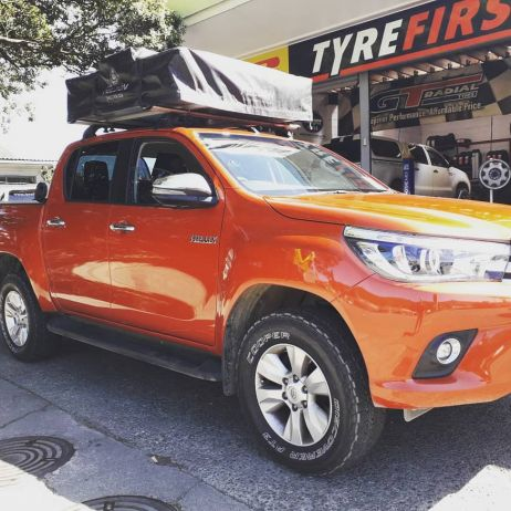 COOPER TIRE AT3 TYRES ON HILUX