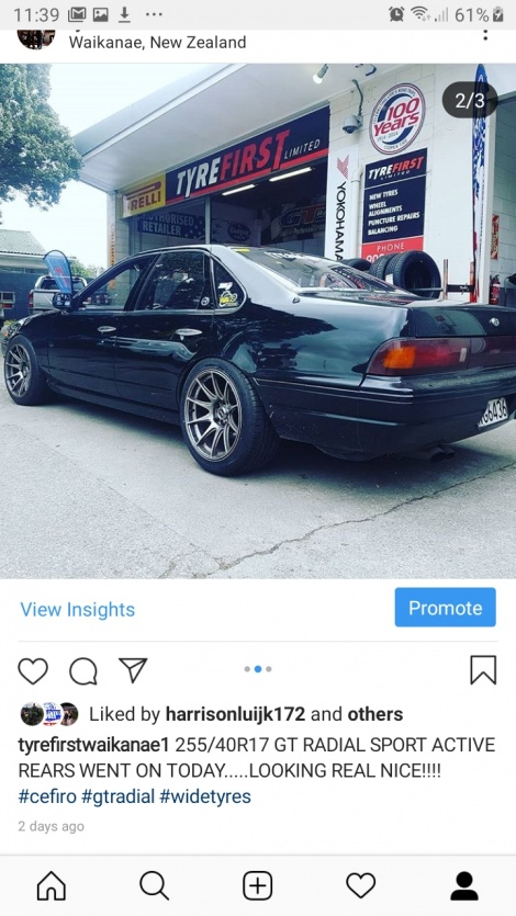 GT RADIAL SPORT ACTIVE TYRES FOR THIS CEFIRO