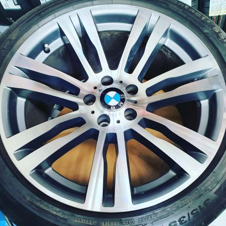 BMW CNC DIAMOND CUT WHEEL RESTORATION