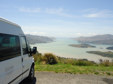 Lyttelton Harbour from the Summit Road