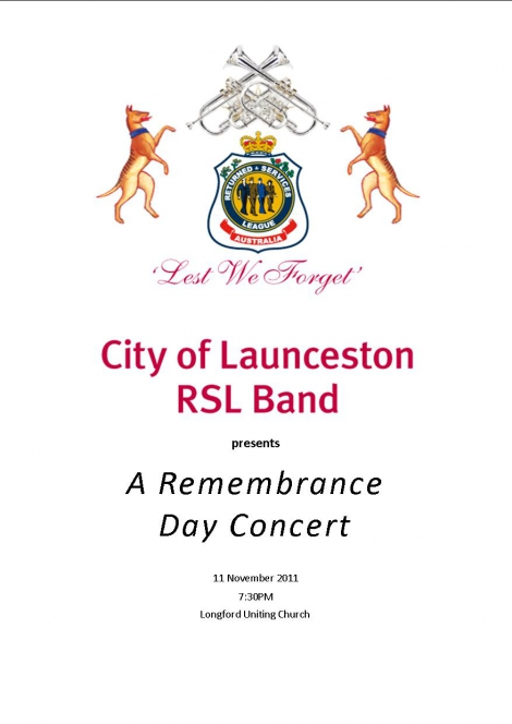 City of Launceston RSL Band