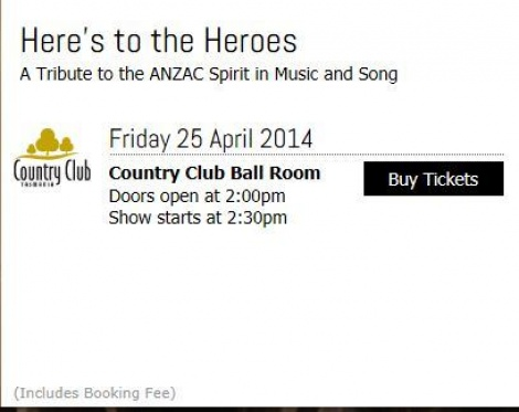 COL RSL Concert 2014 - Here's to the Heroes