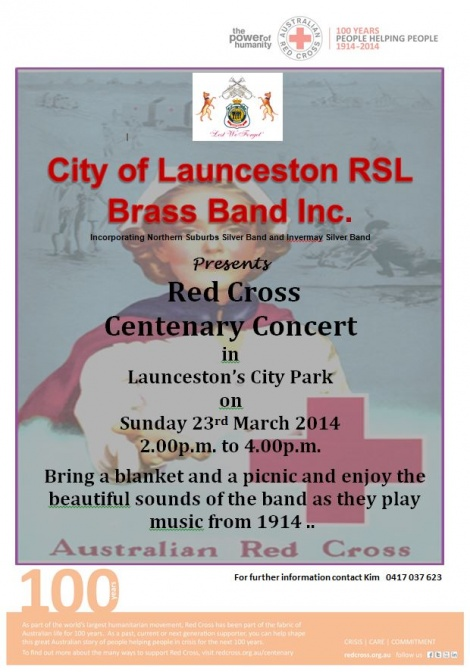 COL RSL Concert 2014 - Red Cross Centenary Concert