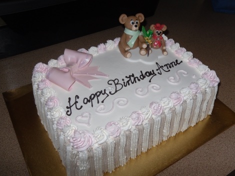 20 people Torte with teddies