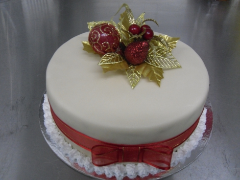 Christmas cakes 7 inch