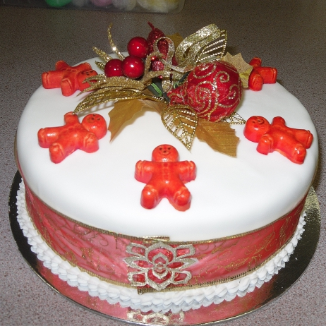 Christmas cakes 8 inch
