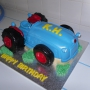 Novelty Tractor Cake