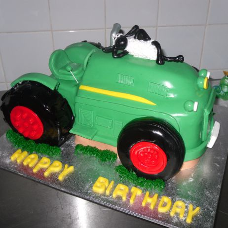 Tractor Novelty Cake