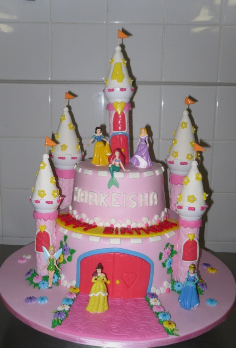 Ladies castle cake