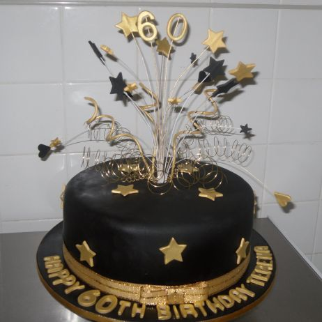 My Gallery Check Out Our Cakes Annette Heavenly Jpg 462x462 Black And Gold Happy Birthday