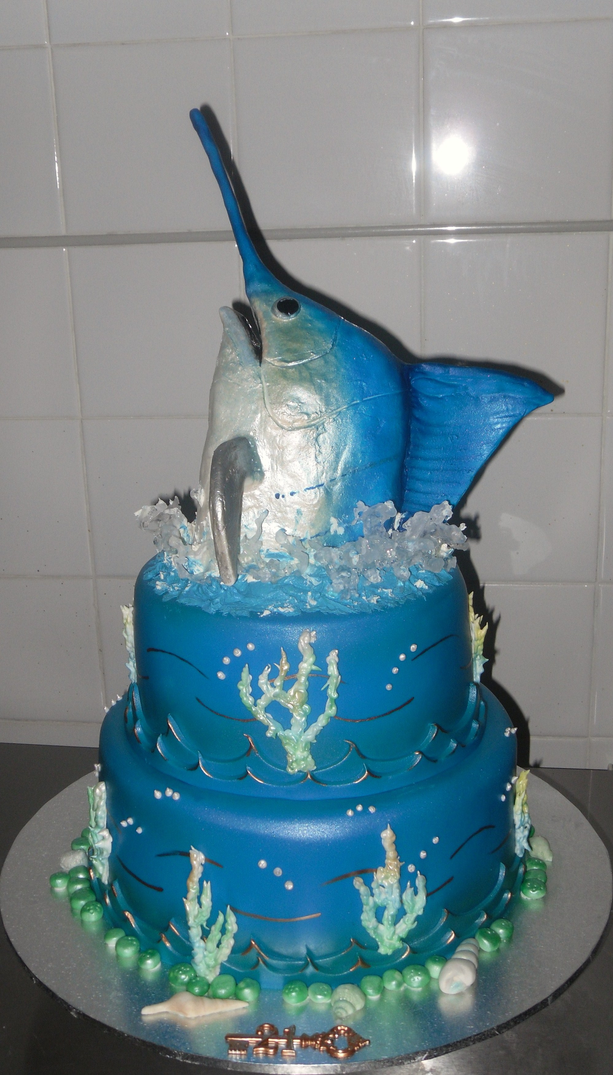 Marlin cake Annettes Heavenly Cakes