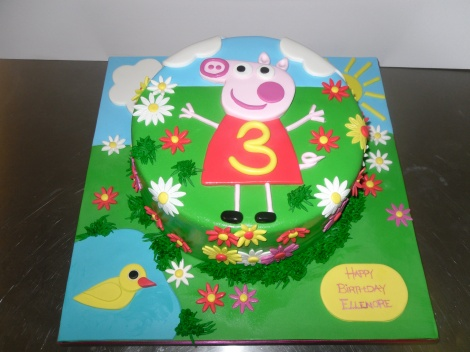 Colourful Peppa pig