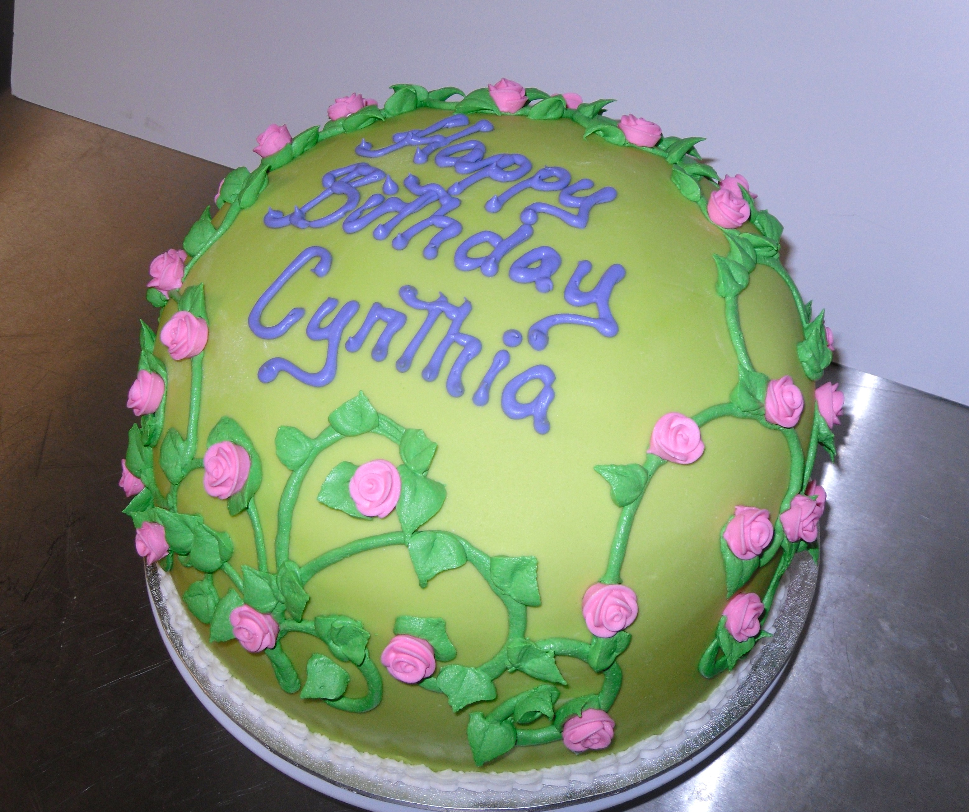 Cakes By Cynthia Facebook