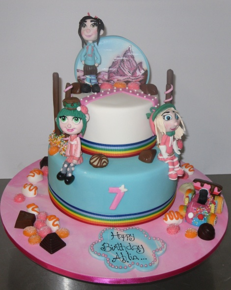 Lollie girls cake