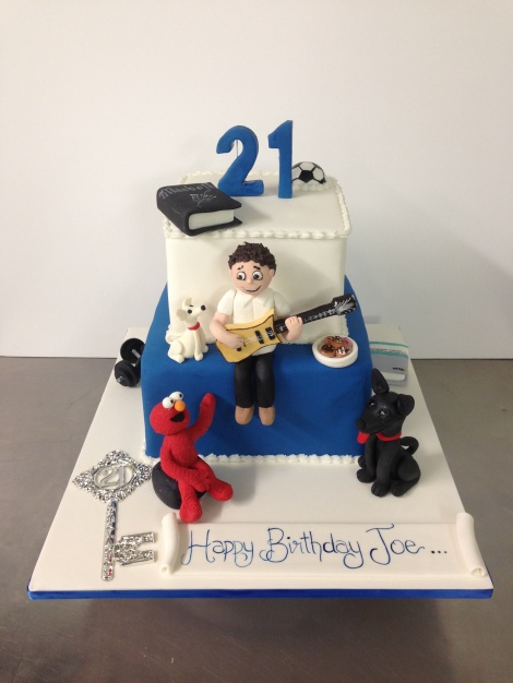 Personalised birthday cake
