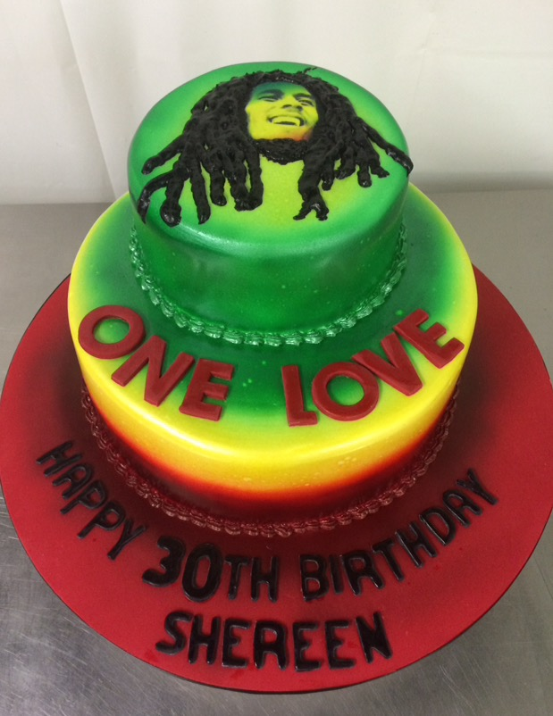 Bob Marley Cake Annettes Heavenly Cakes