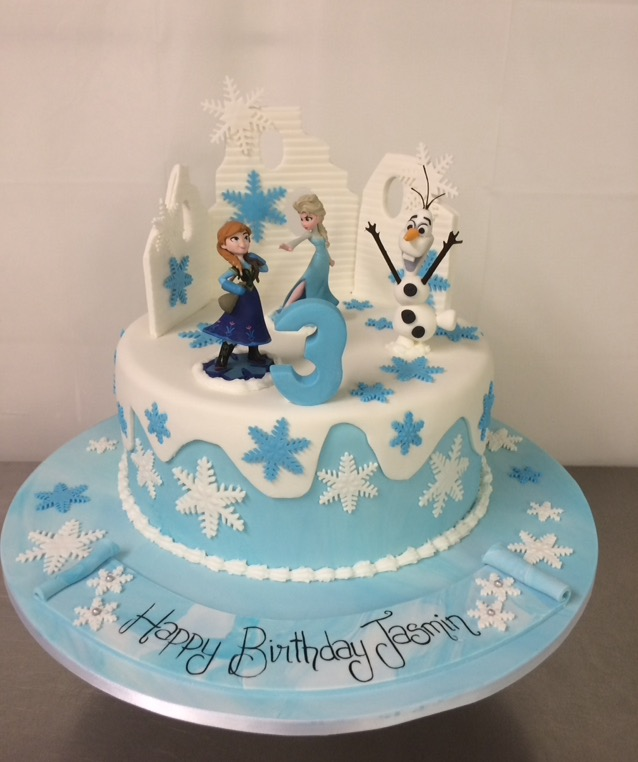 Cake Decorating Elsa Frozen
