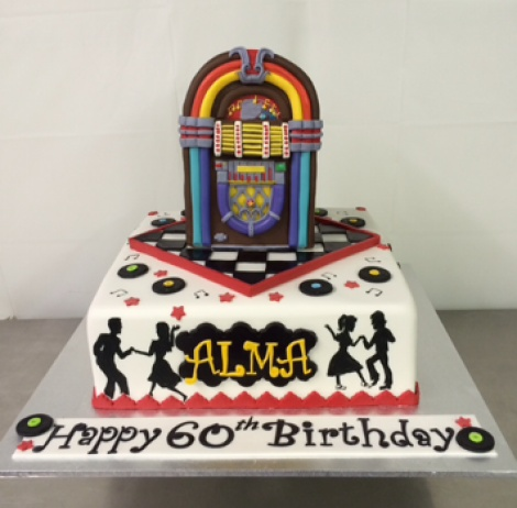 Jukebox cake