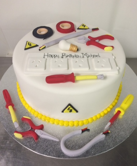 Electricians cake