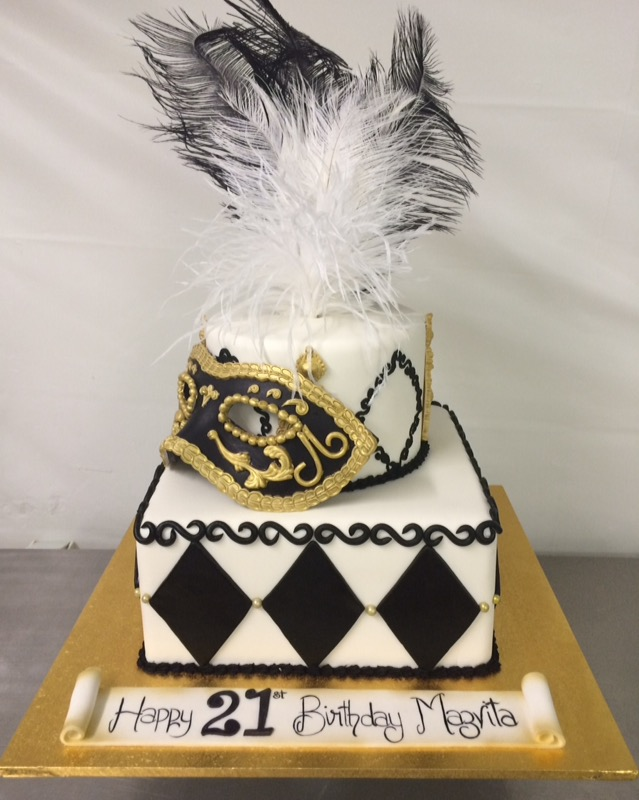 Masquerade Cake Annettes Heavenly Cakes