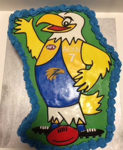 West coast eagles cake