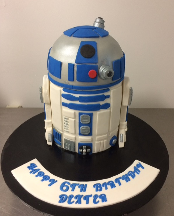 R2d2 Cake Annettes Heavenly Cakes