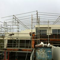 The scaffolding is almost complete!