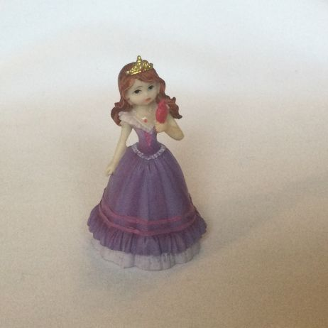 Princess figurine - Purple