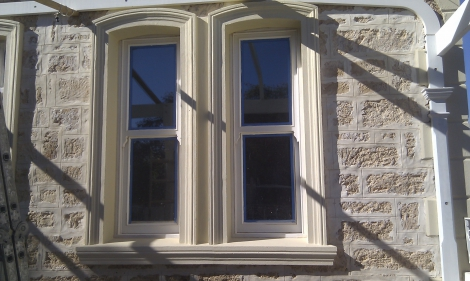 After , original mouldings matched