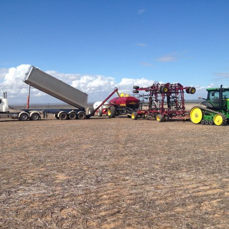 Loading the Seeder