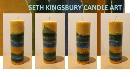 SUNRISE TALL CYLINDER CANDLE
