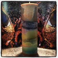 Caiman candle tall cylinder