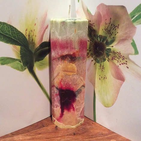 Blossom Tall Octagonal Candle