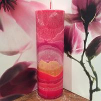 Rose Crystal Tall Cylinder