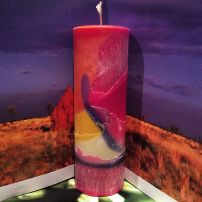 'Sunset' Cylinder Candle.