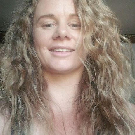 Me with Naturally dry hair