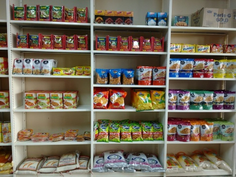 Range of Snacks and Sweets