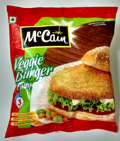 MC CAIN VEG BURGER PATTY