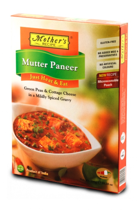 MOTHER'S MUTTER PANEER