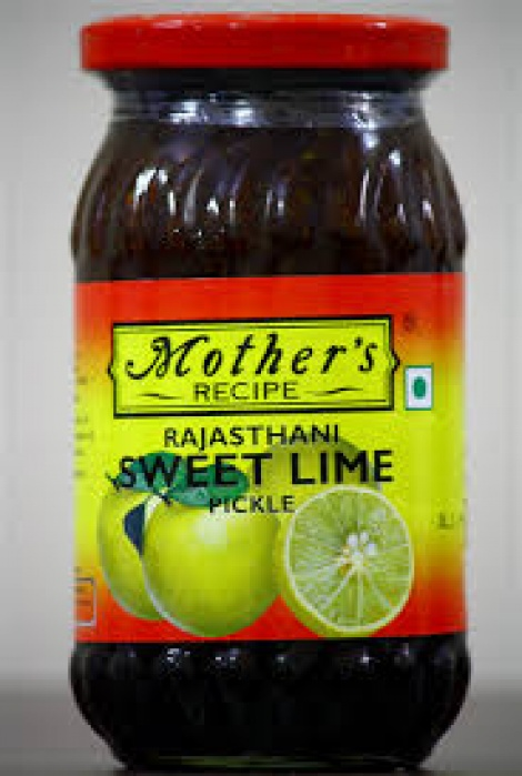 MOTHER'S RAJASTHANI  SWEET LIME PICKLE
