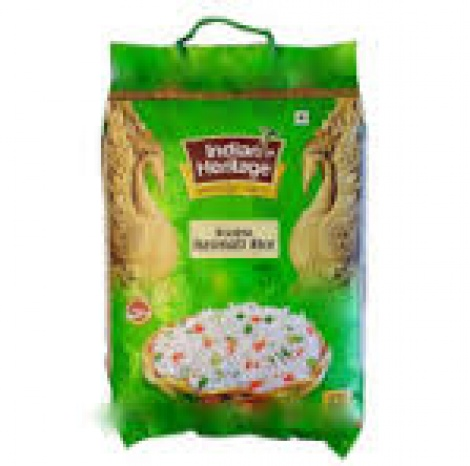 INDIAN HERITAGE BASMATI RICE 5KG