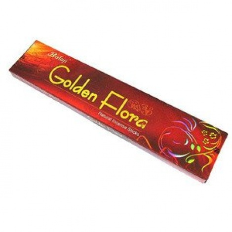 FLUTE GOLDEN FLORA INCENSE STICK