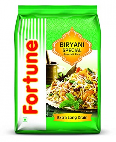 FORTUNE SPECIAL BIRYANI RICE 5KG- SALE- RAKHI SP.