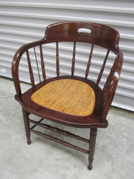 Restored Oak Douglas Chair