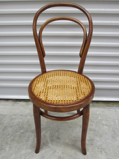 Restored Thonet Bentwood Chair